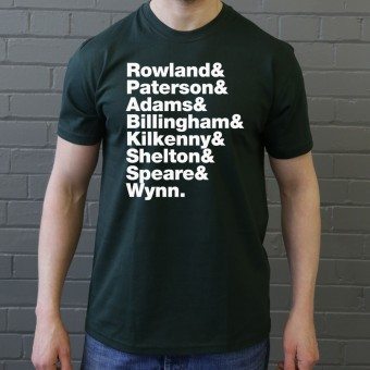 Dexy's Midnight Runners Line-Up T-Shirt