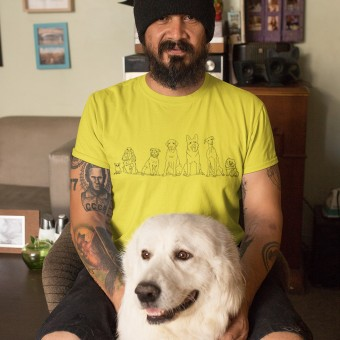 Dog Sketches T-Shirt