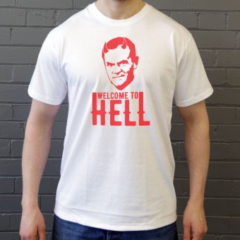 "Donald Tusk ""Welcome To Hell"" T-Shirt"