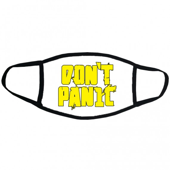 Don't Panic Face Mask