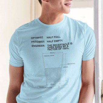 Drinking Receptacle T-Shirt