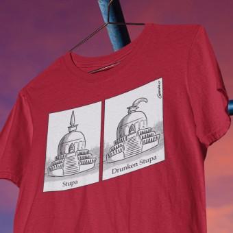 Drunken Stupa T-Shirt