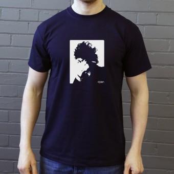 Bob Dylan Cigarette Design T-Shirt