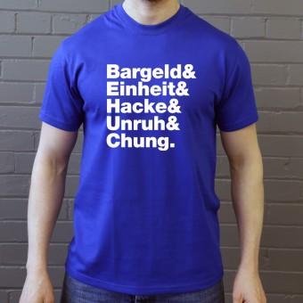 Einsturzende Neubauten Line-Up T-Shirt
