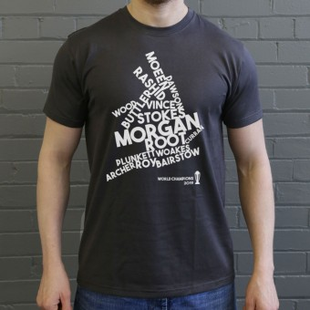 England and Wales: 2019 Cricket World Champions T-Shirt