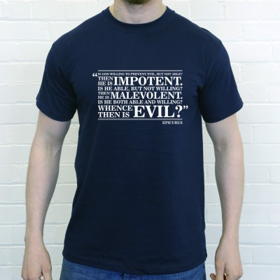 "Epicurus ""Whence Is Evil"" Quote"