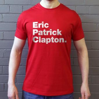 Eric Patrick Clapton T-Shirt