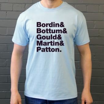 Faith No More Line-Up T-Shirt