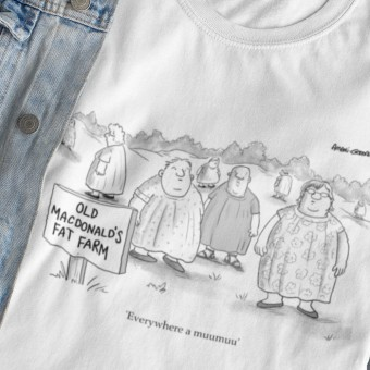 Everywhere A Muumuu T-Shirt