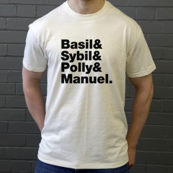 Fawlty Towers Line-Up T-Shirt