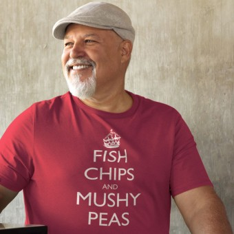 Fish, Chips and Mushy Peas T-Shirt