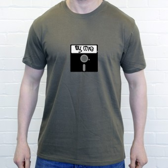5 1/4 Inch Floppy Disk T-Shirt