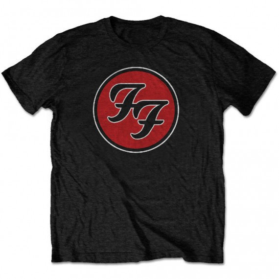 "Foo Fighters ""FF Logo"" Officially Licenced T-Shirt"