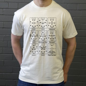 Football Formations T-Shirt