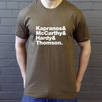 Franz Ferdinand Line-Up T-Shirt