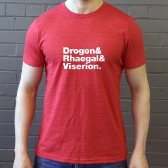 Dragon (Game of Thrones) line-up T-Shirt