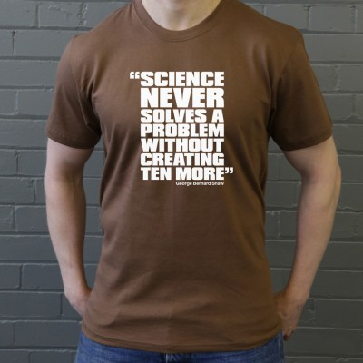 "George Bernard Shaw ""Science"" Quote"