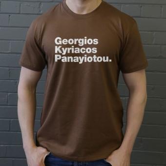 Georgios Kyriacos Panayiotou T-Shirt