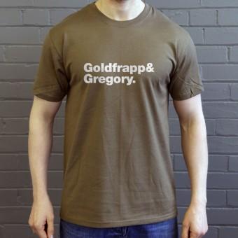 Goldfrapp Line-Up T-Shirt
