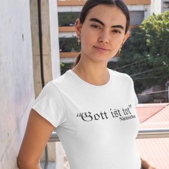 Friedrich Nietzsche Gott Ist Tot T-Shirt