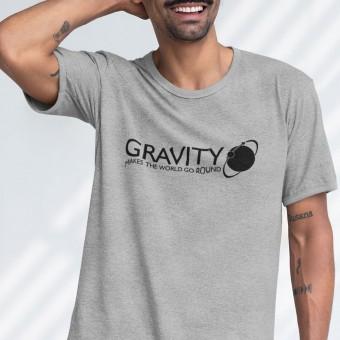 Gravity Makes The World Go Round T-Shirt