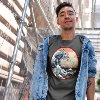 The Great Wave Off Kanagawa (Ocean Plastics) T-Shirt