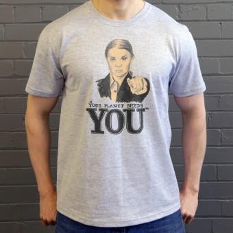 "Greta Thunberg ""Your Planet Needs You"" T-Shirt"
