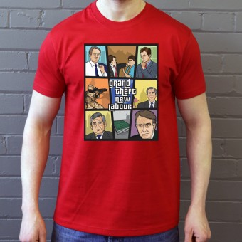 Grand Theft New Labour T-Shirt