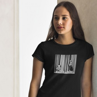 Guantanamo Bay Barcode T-Shirt