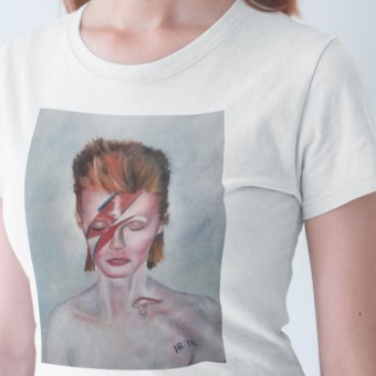 Aladdin Sane by Hadrian Richards T-Shirt