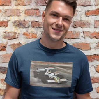 Night Time F1 by Hadrian Richards T-Shirt