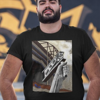 Howay The Lads by Hadrian Richards T-Shirt