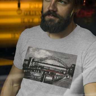 Twilight Tyne by Hadrian Richards T-Shirt