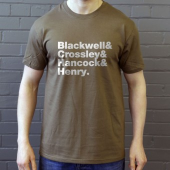 Half Man Half Biscuit Line-Up T-Shirt