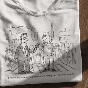 Hanging Interview T-Shirt
