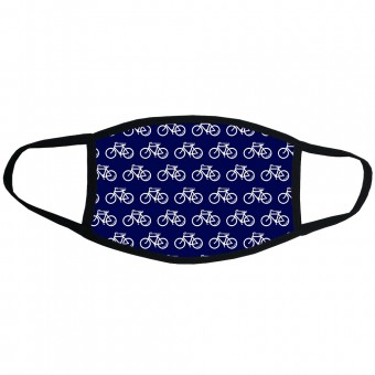 Happiness is Bicycle Shaped (Pattern) Face Mask