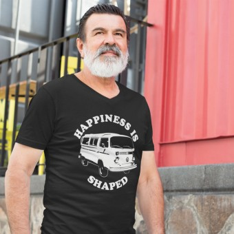 Happiness Is Camper Shaped T-Shirt