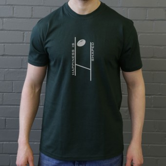 Happiness is Rugby Shaped T-Shirt