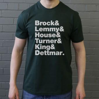 Hawkwind Line-Up T-Shirt