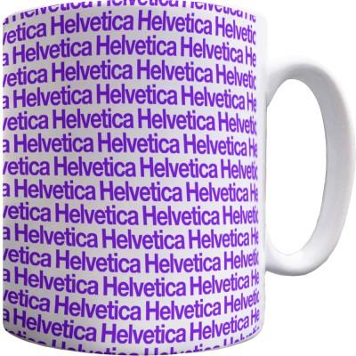 Helvetica Pattern Mug