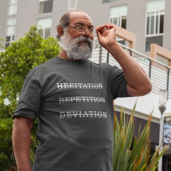 Hesitation, Repetition, Deviation T-Shirt