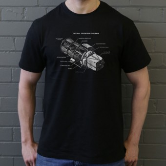 Hubble Telescope Diagram T-Shirt