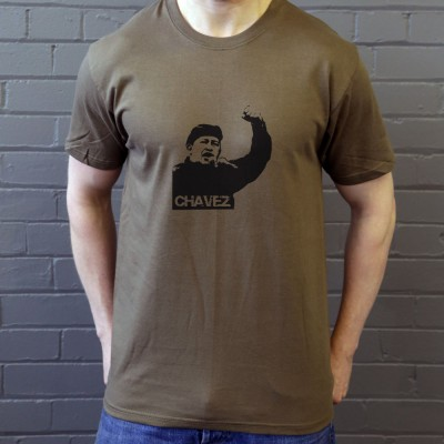 Hugo Chavez: Black Print
