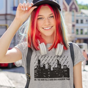 On A Humdrum Town T-Shirt