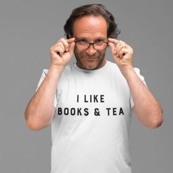 I Like Books and Tea T-Shirt