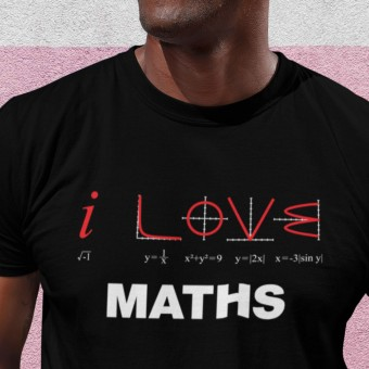 I Love Maths T-Shirt