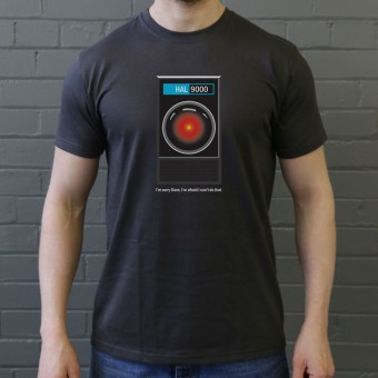 "HAL9000: ""I'm Sorry Dave"" T-Shirt"