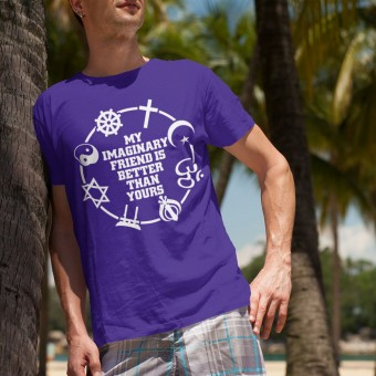 My Imaginary Friend Is Better Than Yours T-Shirt