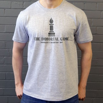 The Immortal Game: Anderssen v Kieseritzky 1851 T-Shirt