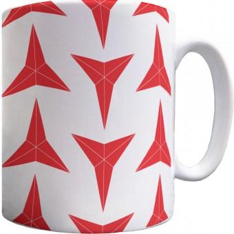 International Brigades Star Pattern Mug